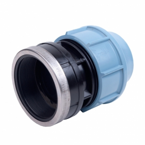 Female End Connector Pol x FI BSP