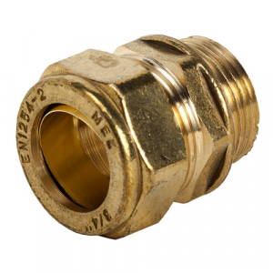 311 - Brass Ml Straight Coupler