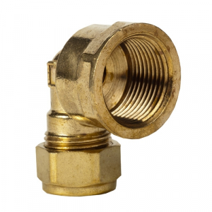 317 - Brass FI Elbow