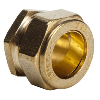 351 - Brass Compression Stop Ends