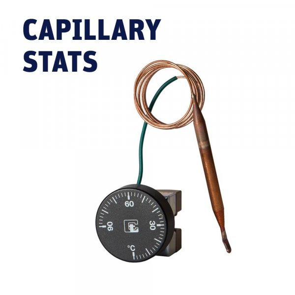 Capillary Stats, 35-125℃, 0-90℃, 0-120℃, 0-200℃, 0-320℃