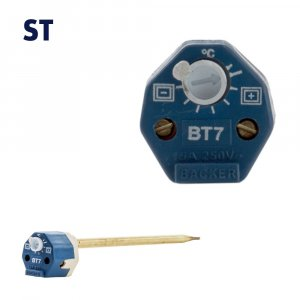 ST7, ST11 & ST18 - 7 Inch, 11 Inch & 18 Inch 15 Amp Rod Stat (30°C-75°C)