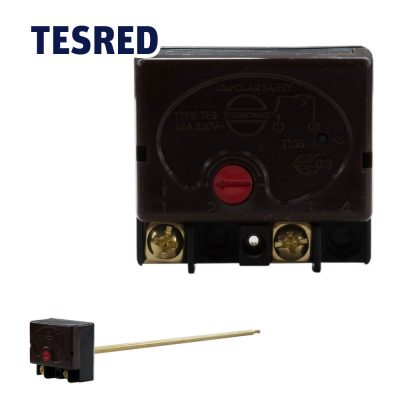 11 Inch 16 Amp Plug in Stat Max 70°C-Safety 90°C
