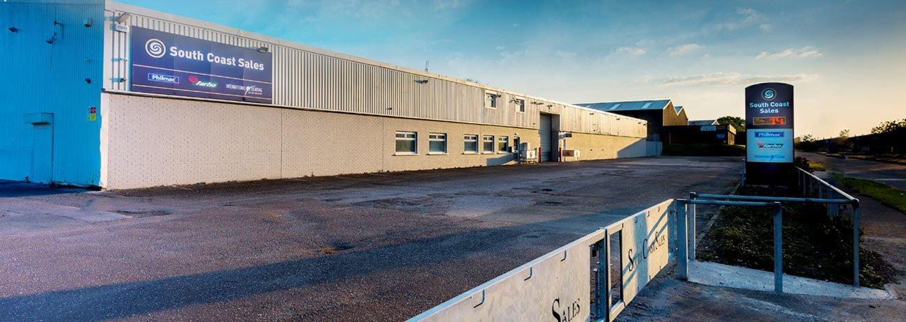 South Coast Sales warehouse