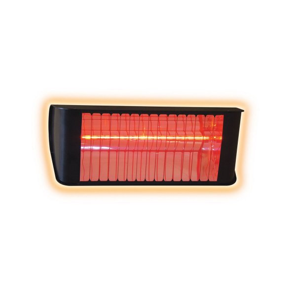 2.4KW Infrared Heater glowing