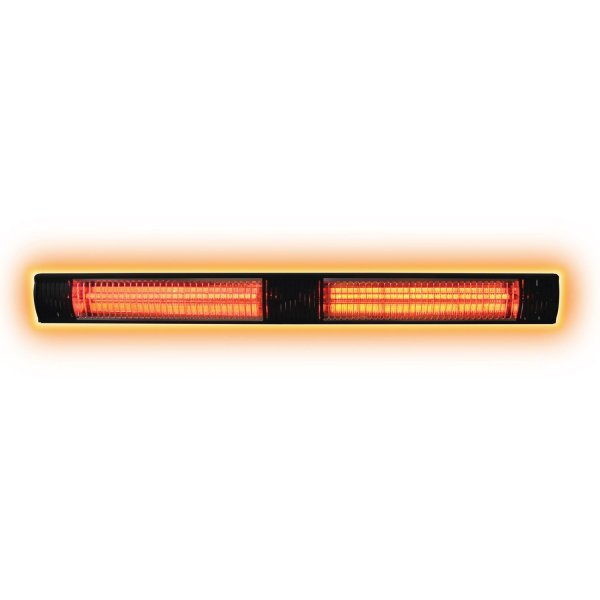 3.0KW Infrared Heater glowing