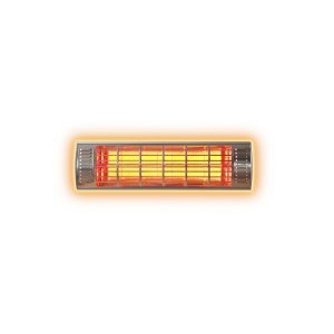 1.0KW Infrared Heater glowing